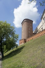 strážna veža hradu Wawel