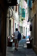 Koper, ulica v starom meste