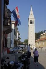 Novigrad, veža kostola