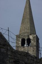 Poreč, veža kostola